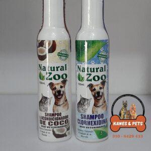shampoo para mascotas con extractos naturales