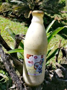 Yogurt a base de leche de coco