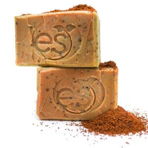 Jabón natural de café orgánico