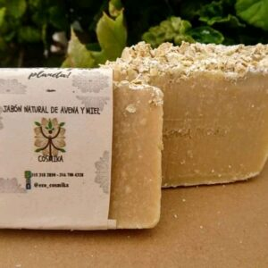 Jabón a base de aceites naturales para hidratar la piel