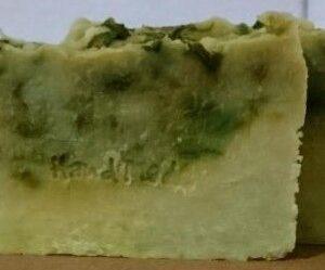 jabon natural de perejil antioxidante